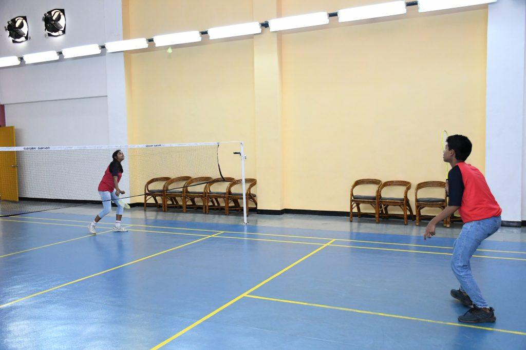 Wockhardt Global School - Tennis porch at WGS Hostel