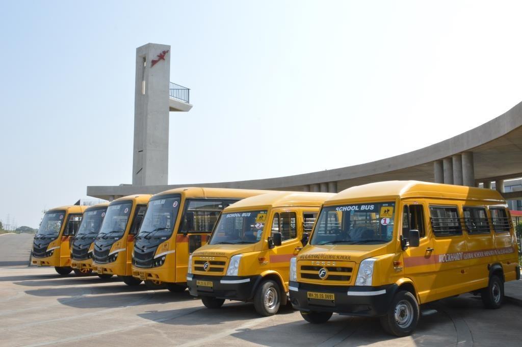 Wockhardt Global School - Bus facility