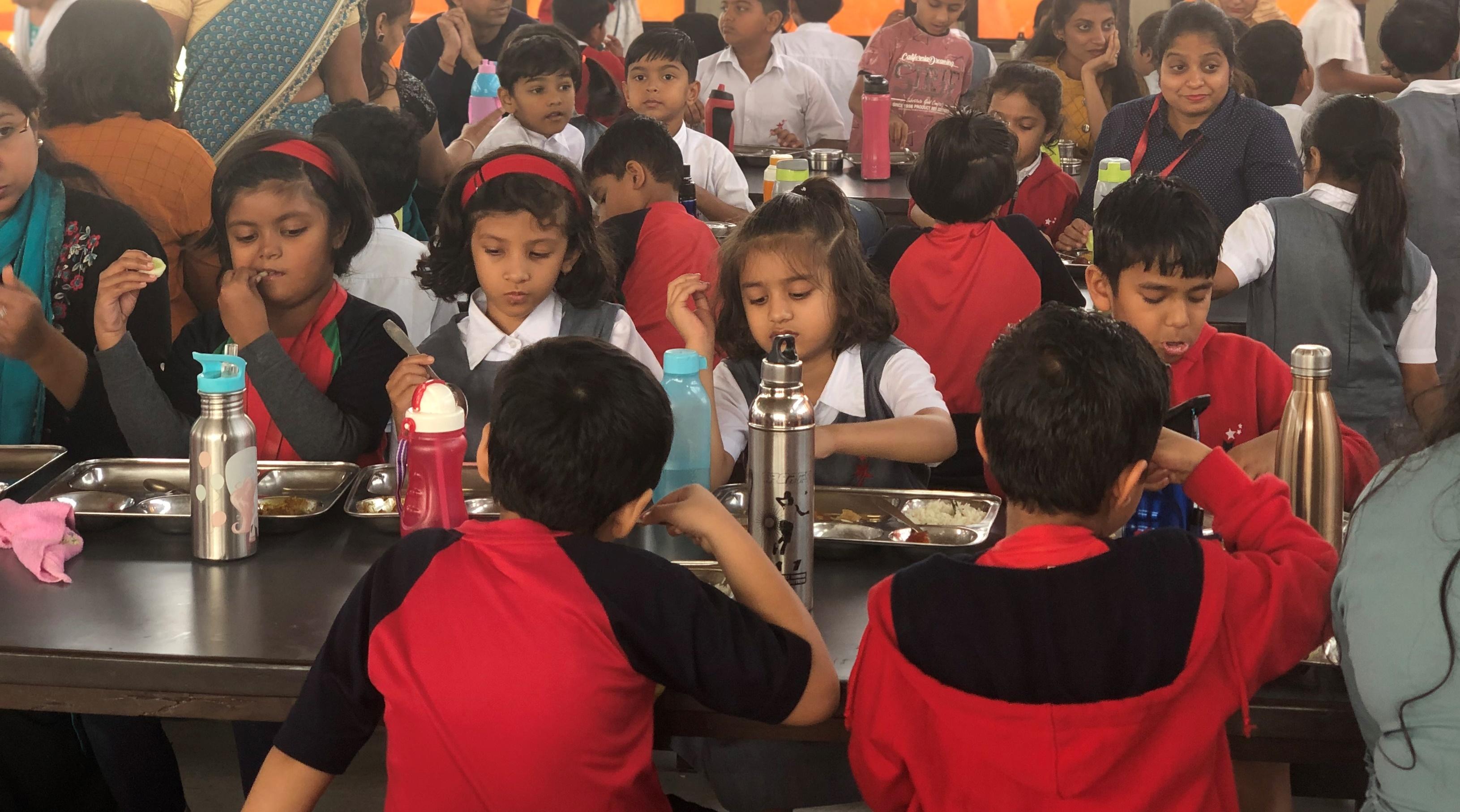 Wockhardt Global School - Cafeteria